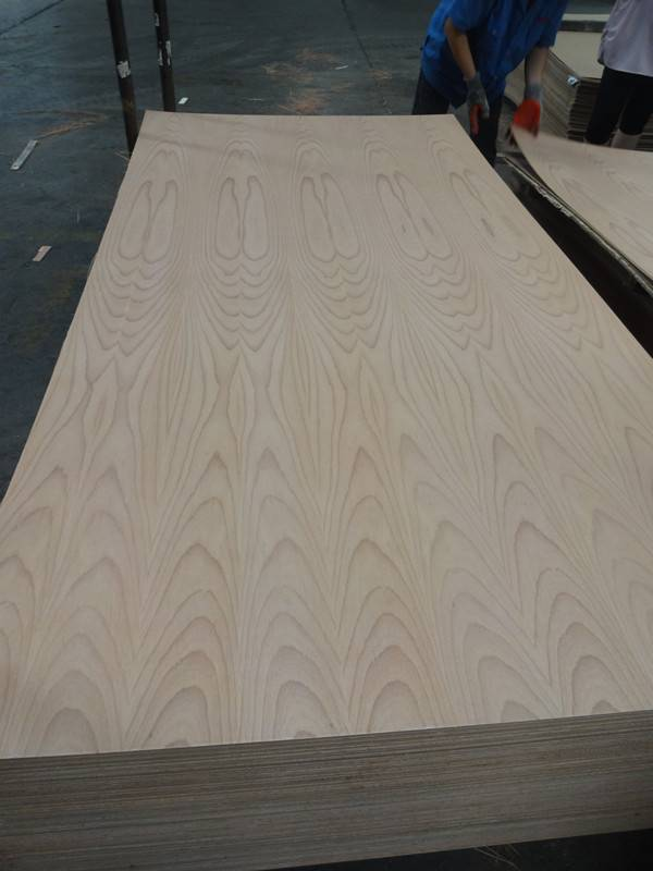 Natural Beech Veneered Plywood/MDF