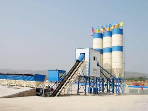 HZS60 Concrete Mixing Plant