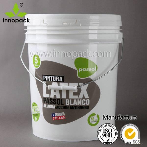 5 gallon plastic food grade bucket