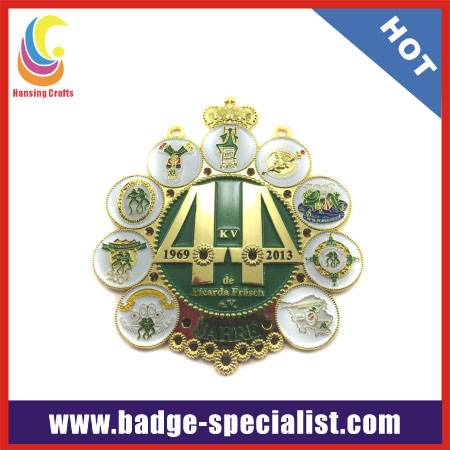 zinc alloy medallion