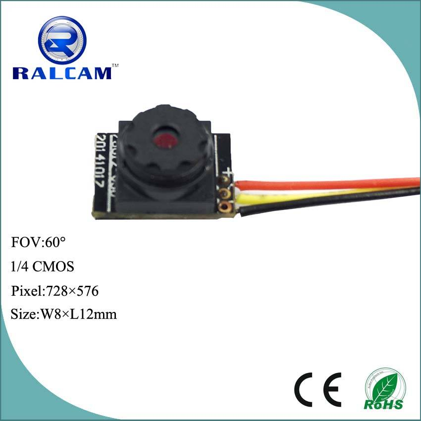 800TVL 1/4 inch cmos sensor 50cm~infinity DOF 8mm camera module for surveillance monitoring