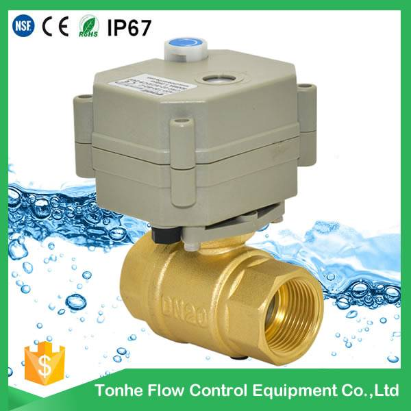 IP67 cwx-15q motorized ball valve electric operated valve