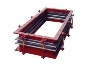 JX-REECTANGLE DOUBLE BELLOW EXPANSION JOINT