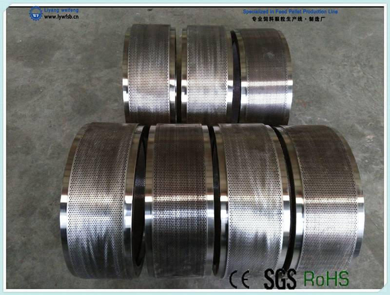 ring die/wearing parts for feed/wood pellet mill/machine