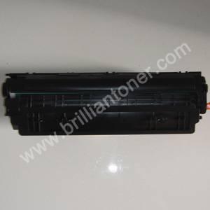 CB435A hot black toner cartridge for HP