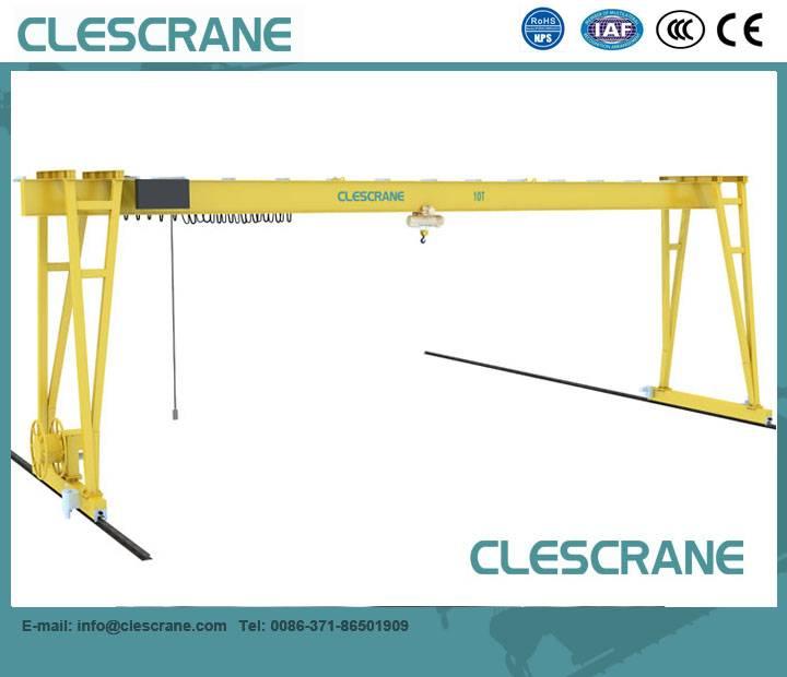 For sales!! box type 3 ton-32 ton single girder gantry crane price $1000-$8500