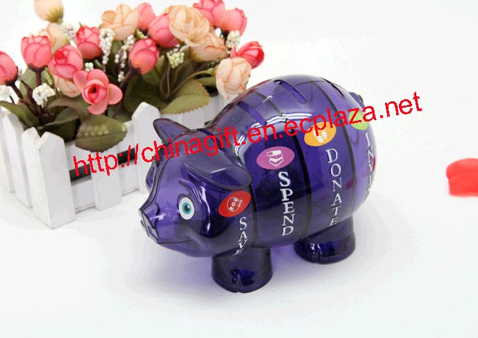 Money Savvy Pig Savings Bank