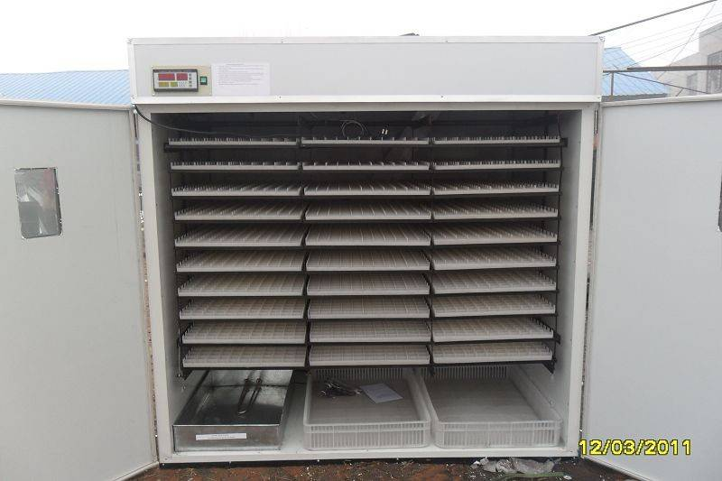CE Marked High Quality Automatic Egg Incubator