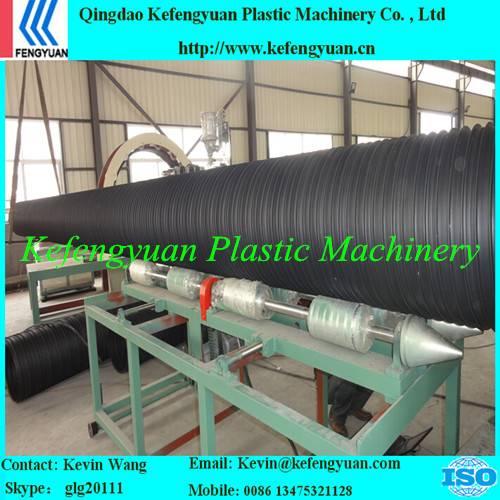 KFY winding type plastic steel pe hdpe pipe tube extruder machine