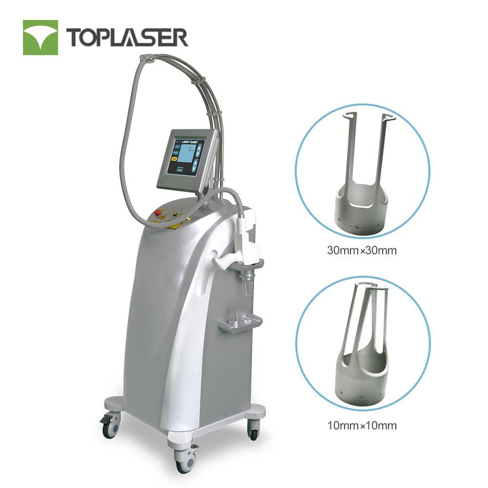 All in one facial machine non-ablative fractional erbium fiber 1550nm laser skin rejuvenation