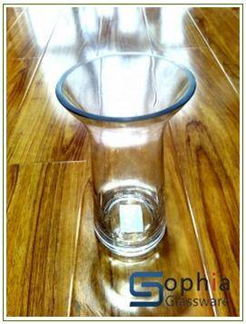gathering glass vases