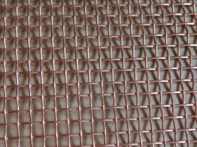 Copper Window Screen