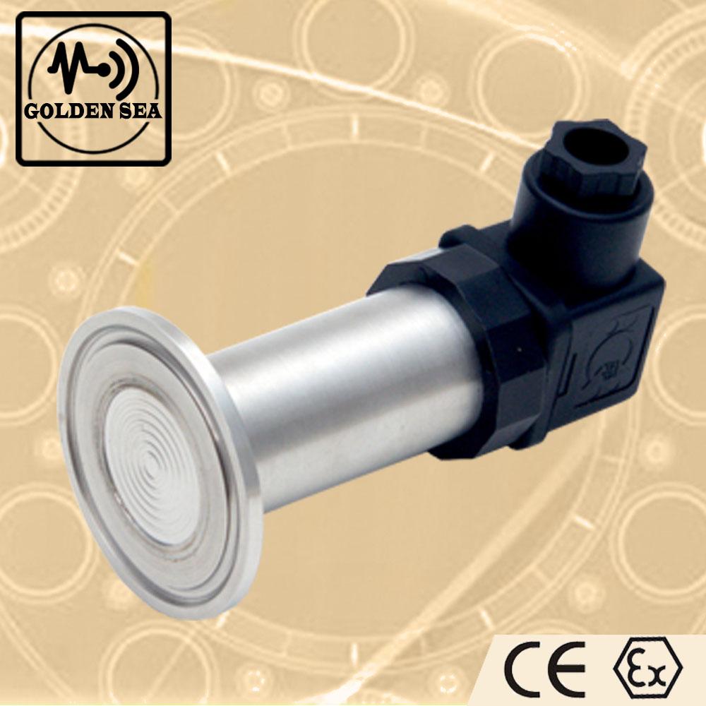 Food Industry High Temperature Sanitary Type Flat Diaphragm pressure Sensor 0-20Mpa