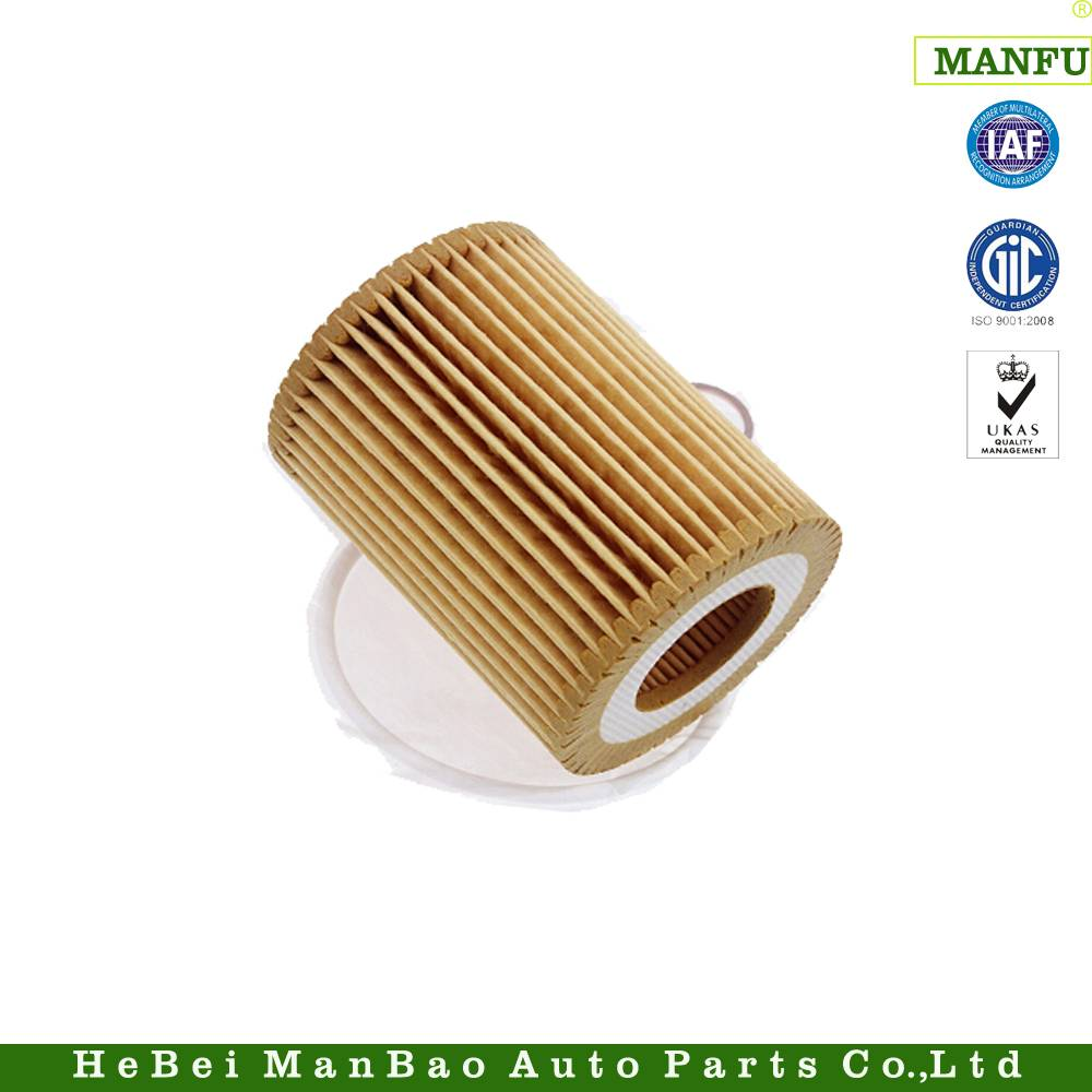 Low Pressure Loss Paper Medium Auto Oil Filter (11427635557)