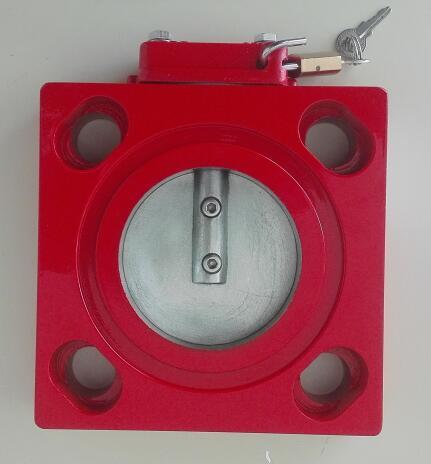radiator butterfly valve
