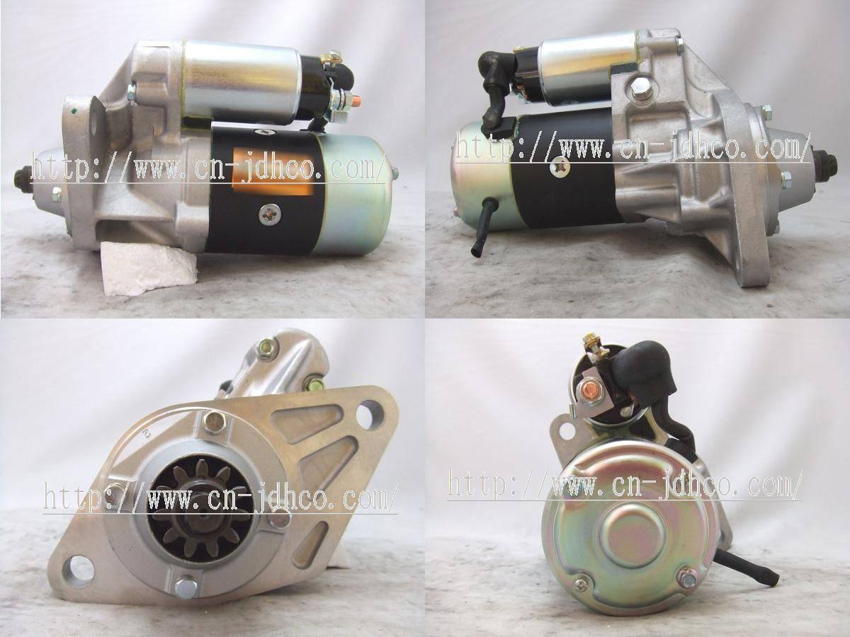 Starter motor  4HF1  S25-308A  8972161861   S25-300 S25-305  ISUZU