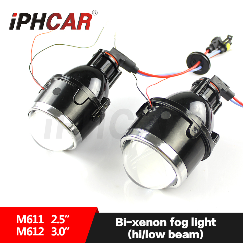 IPHCAR Universal 3 inch waterproof hid fog lamp car front fog light