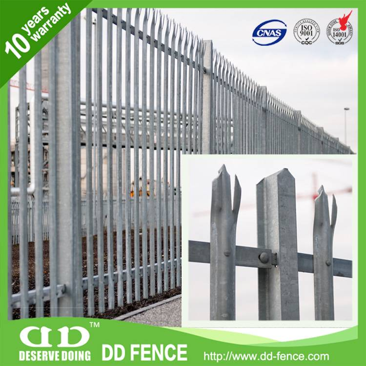 Trident crash Rated Fence