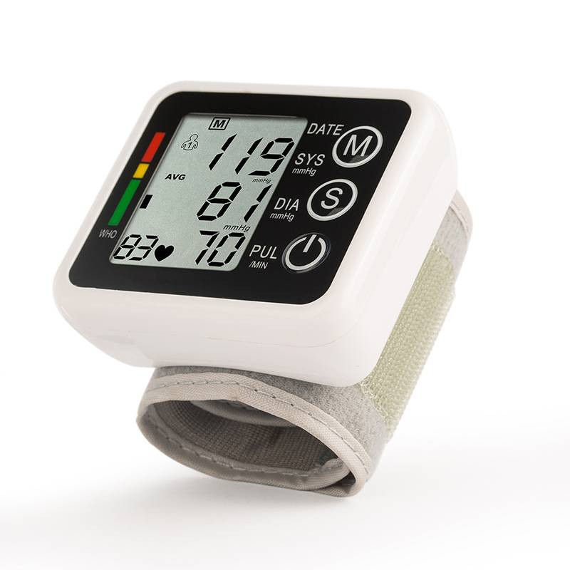 Automatic Wrist Blood Pressure Monitor(voice)