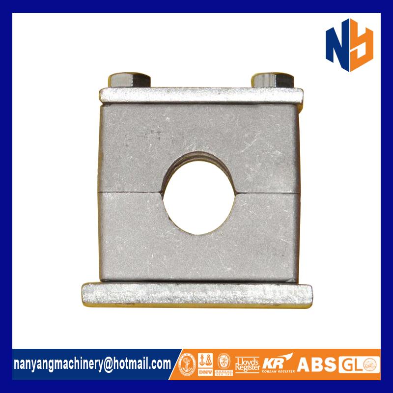 Hydraulic aluminium hose clamp