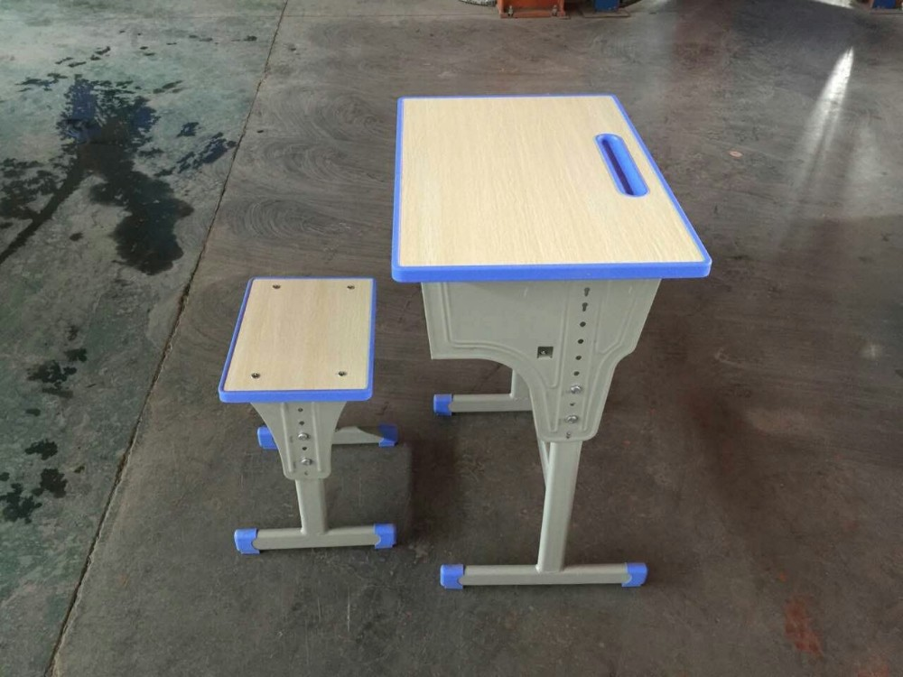 Customized utility smooth surface school desk and chair
