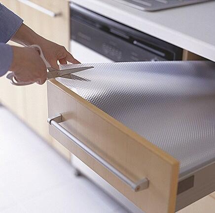 Home & Garden kitchen anti-slip drawer liner, non slip under sink mat, houseware EVA shelf liner