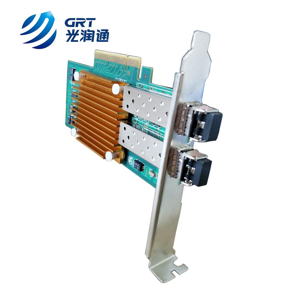 IEEE member Ethernet NIC Intel 82599ES 2 port SFP+ 10Gbps Network Adapter Card
