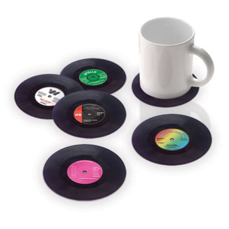 promotional gifts pvc cup mat coffee cup pad present