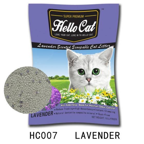 HC 007   Lavender cat litter