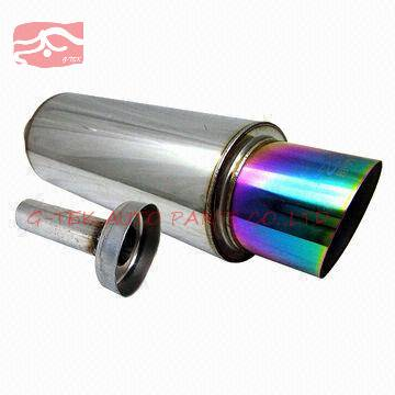 Stainless steel muffler, customized sizes and applications are accepted