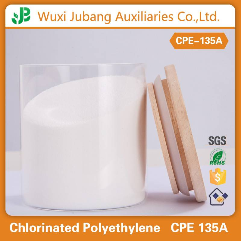 High quality CPE135A with great price PVC impact modifier chlorinated polyethylene