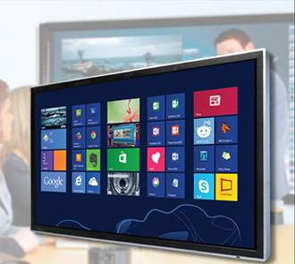 All in one touch screen