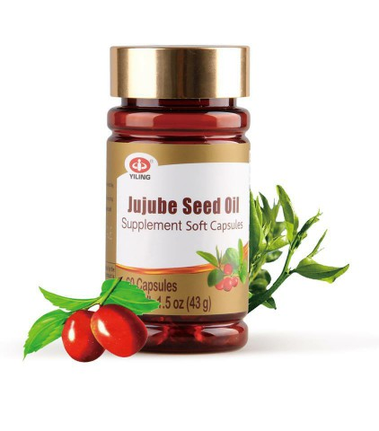 Health food --Improve sleeping quality--Jujube Seed oil Soft Capsules