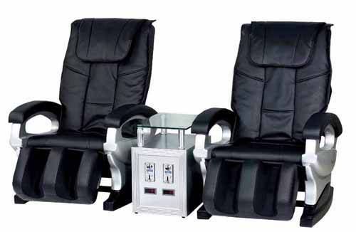 Double Coin Operated Massage Chair (DLK-H004)