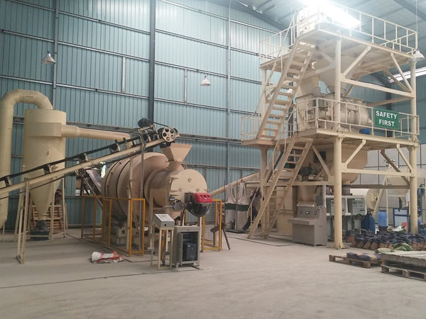 lower cost 1-50t/hFull-auto Simple-Type Dry Mortar Production Line
