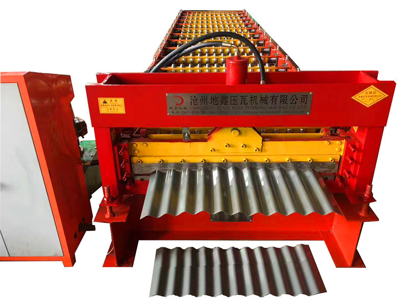 Corrugated Profile Roll Forming Machine/roof sheet making machine