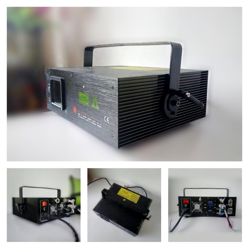 Professional Full Color RGB 1000mw Animation Fairy Laser Light