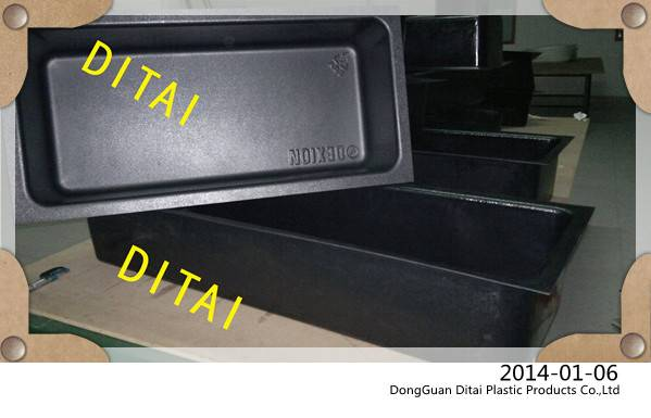 Customized thick and hard vacuum formed plastic box