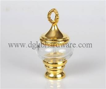 24 ml glass perfume bottle with high quality metal cap