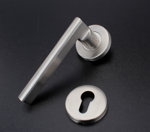 2hrs fire rated stainless steel(SS) casting lever door handle/lock/hardware high quality