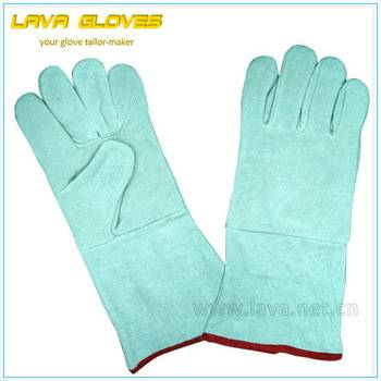 Cow Leather Tig Welding Gloves Safety for Workman