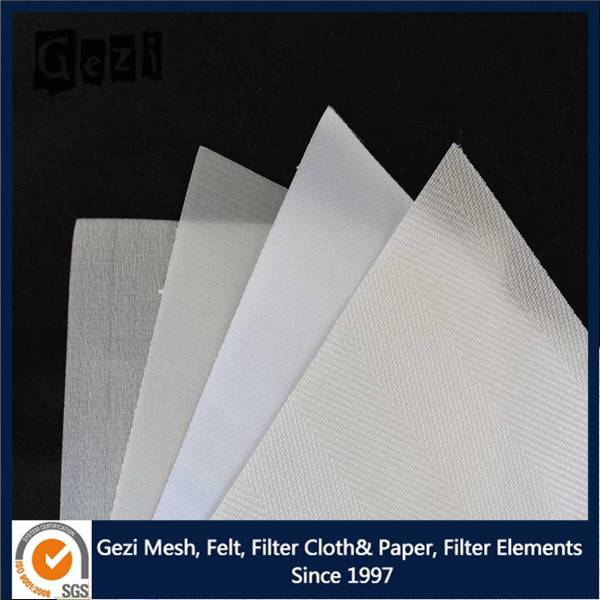 Gezi polyester filter cloth for good and beverage processing