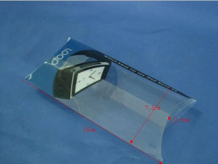 PVC Watch box pillow box made in Cjhian