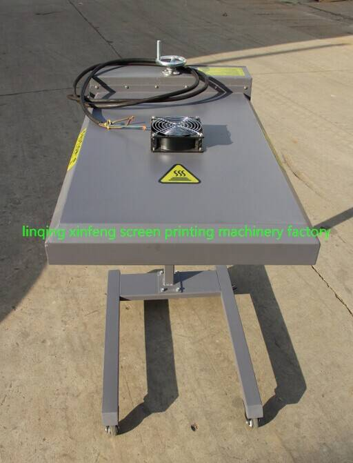 Economical movable far infrared screen printing machine dryer