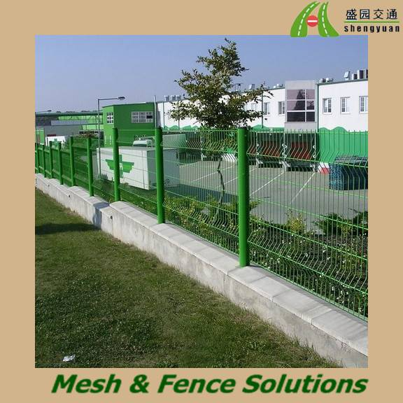 Nice Pvc Coated Welded Mesh Fence