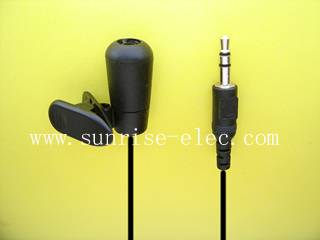 Portable clip-on microphone