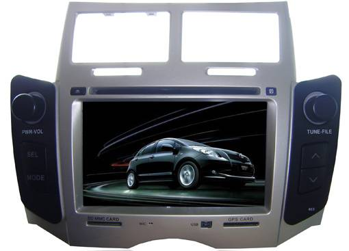 Car DVD Player 2 din GPS Bluetooth Toyota YARIS HD707