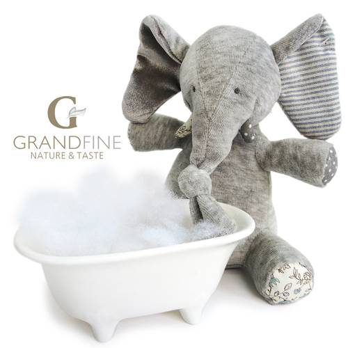 soft velvet standing elephant toys kids OEM doll manufacture with EN71 test report and CE mark and R