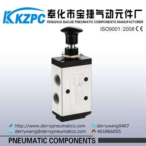 China 1/2 inch Hand draw valve Aluminum 4R210-08