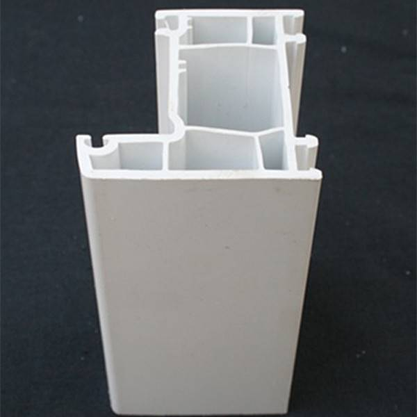 White color upvc window and door profile 60 70 80 88 series